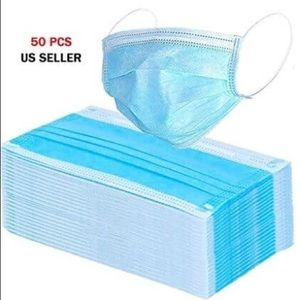 2 BOXES of 4 ply disposable face mask made in VN